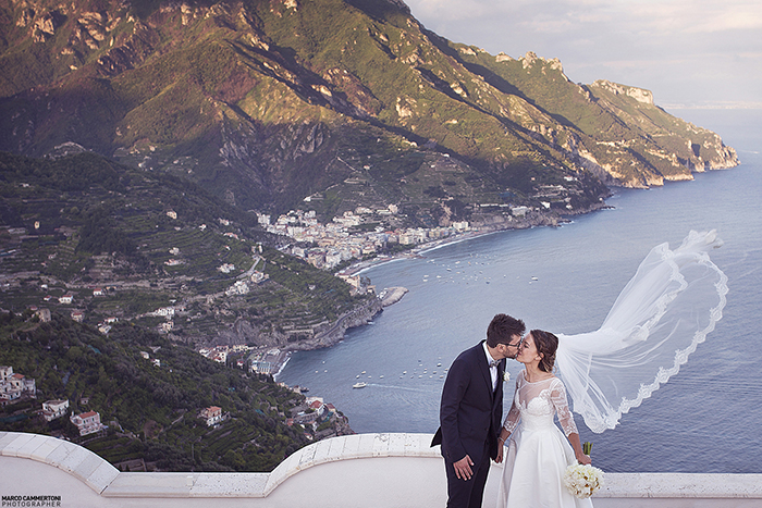 Wedding in Ravello - Stefania & Piergiorgio